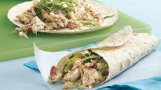 Chicken-Bacon-Ranch Wraps Recipe