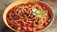 Three-Alarm Spaghetti and Pinto Bean Chili