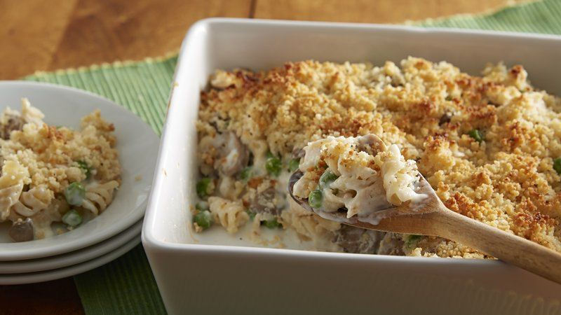 Chicken Tetrazzini Casserole recipe from Betty Crocker
