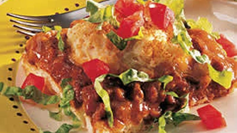 California Taco Chili Bake