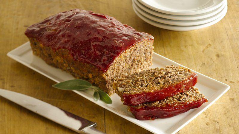 Gluten-Free Meat Loaf recipe from Betty Crocker