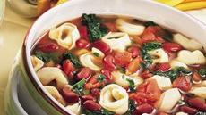 Tortellini and Bean Soup Recipe