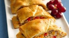 Grands! Crescent Cheesy Sausage Stromboli Recipe