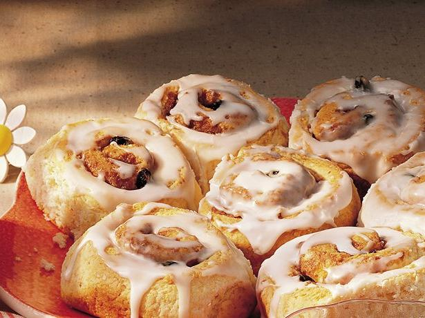 Glazed Cinnamon Rolls