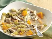 Chicken, Squash and Pasta Soup
