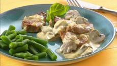 Pork Medallions with Dijon-Mushroom Sauce Recipe
