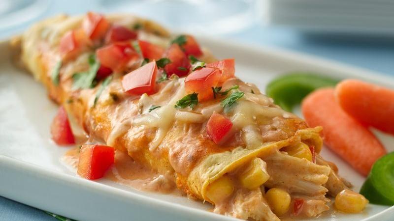 T.J. Ford's Tex-Mex Enchiladas
