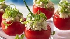 Filled Tomato Appetizers Recipe