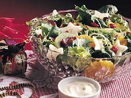 Heavenly Mixed Greens with Fruit