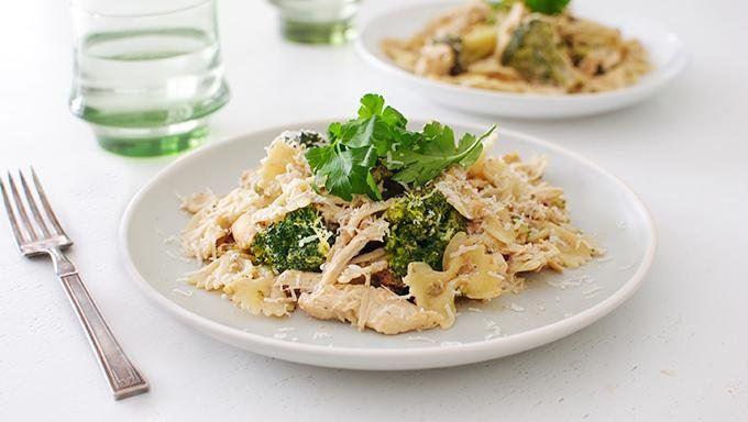 Slow Cooker Chicken Broccoli Alfredo recipe - from Tablespoon!