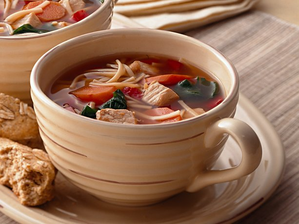 Image of Asian Pork And Noodle Soup, Betty Crocker