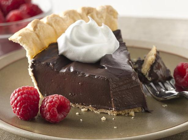 Silky Dark Chocolate Pie