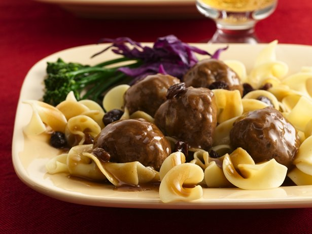 Sauerbraten Meatballs