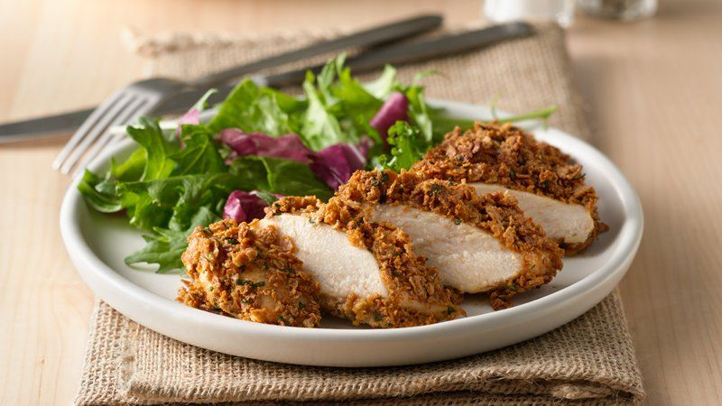 Crunchy Garlic Chicken