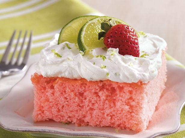 Strawberry Margarita Cake