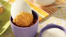 Double-Dipper Egg Lunch Recipe