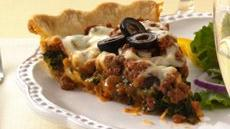 Layered Italian Beef Pie Recipe