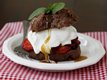 Chocolate-Caramel-Strawberry Shortcakes