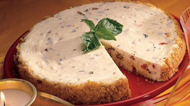 Triple Cheese Appetizer Cheesecake