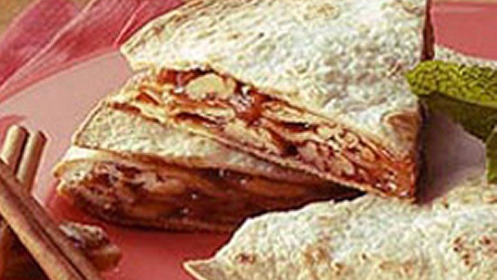 Caramel Tortilla Pie