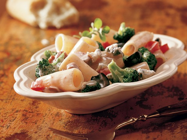 Gorgonzola Rigatoni with Vegetables