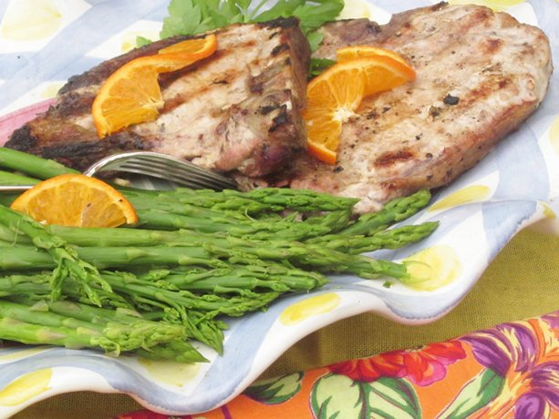 Image of Asian Grilled Pork Chops, Betty Crocker