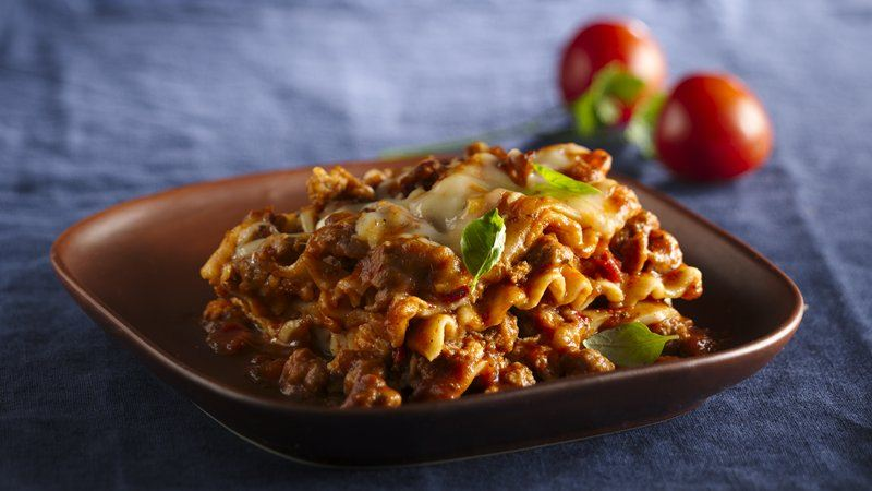 Slow-Cooker Roasted Tomato Lasagna