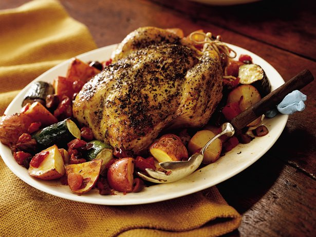 Provenal Roast Chicken
