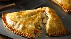 Easy Weeknight Chicken Pot Pie Turnovers Recipe