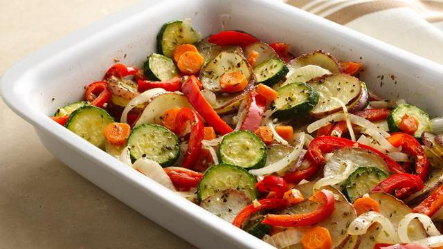 Mixed Vegetable Bake Recipe