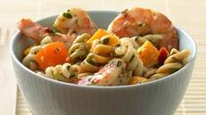 Thai Shrimp and Mango Pasta Salad Recipe