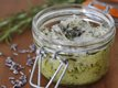 DIY Rosemary-Lavender Salt Scrub