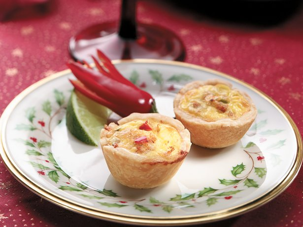 Asian Crab Mini Quiches