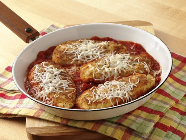 Skillet Chicken Parmesan