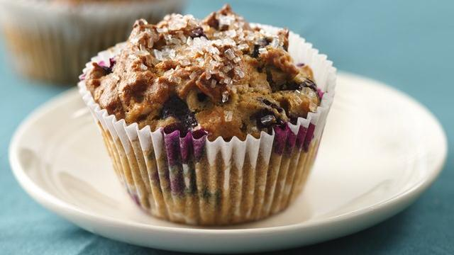 Blueberry 'n Oats Muffins