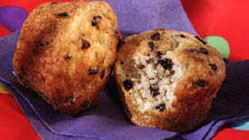 Chocolate Chip-Banana Muffins