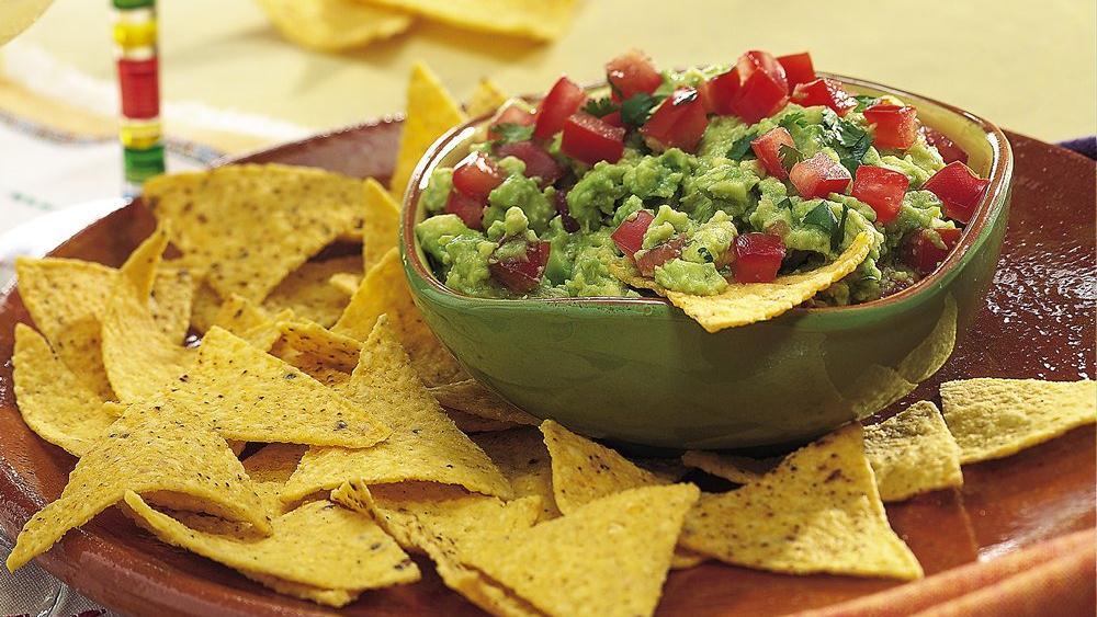 Chunky Guacamole Recipe From