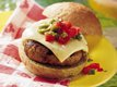 Grilled Mexican Chicken Burgers