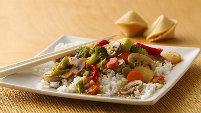 Image of Asian Vegetable Stir-fry, Pillsbury