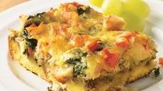 Crab and Spinach Strata Recipe