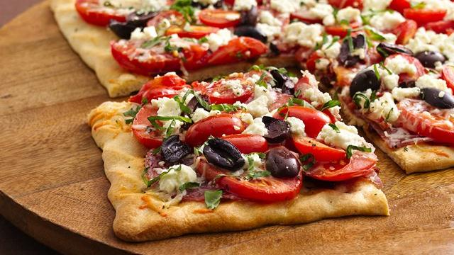 Mediterranean Three-Tomato Tart