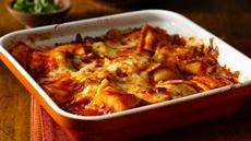 Fire Roasted Tomato Ravioli Bake  Recipe