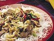Sichuan Beef with Rice Stick Noodles