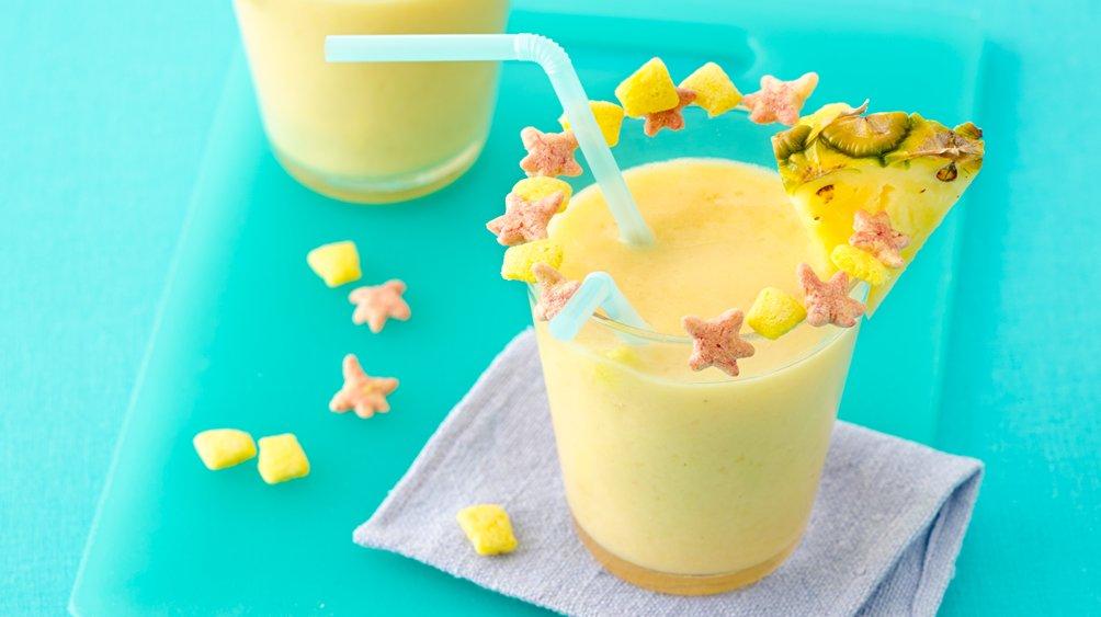 Fruity Splash Smoothies