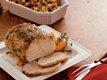 Apricot-Glazed Pork Roast and Stuffing