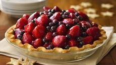 Here's to the Red, White & Blue Pie Recipe