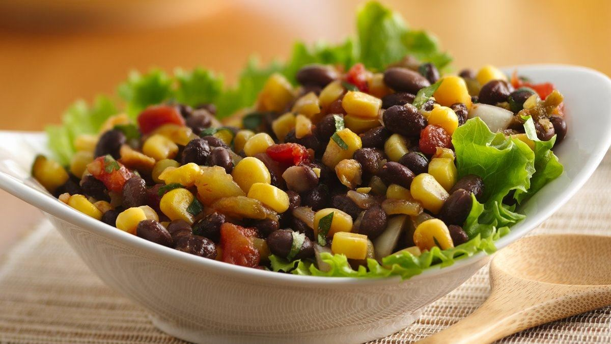 black bean and corn salad - Life Made Delicious