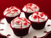Gluten Free Valentine Confetti Cupcakes
