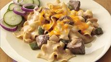 Philly Cheese Steak Casserole Recipe