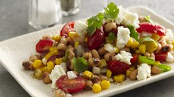 Gluten Free Blackeyed Pea, Tomato and Corn Salad